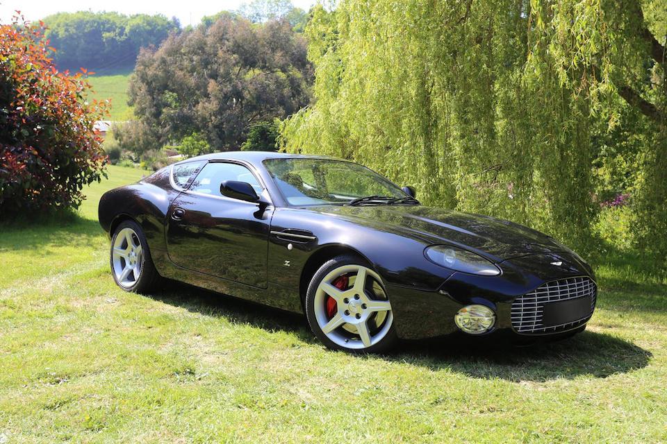 2004 Aston Martin DB7 Zagato  Chassis no. SCFAE12323K700082