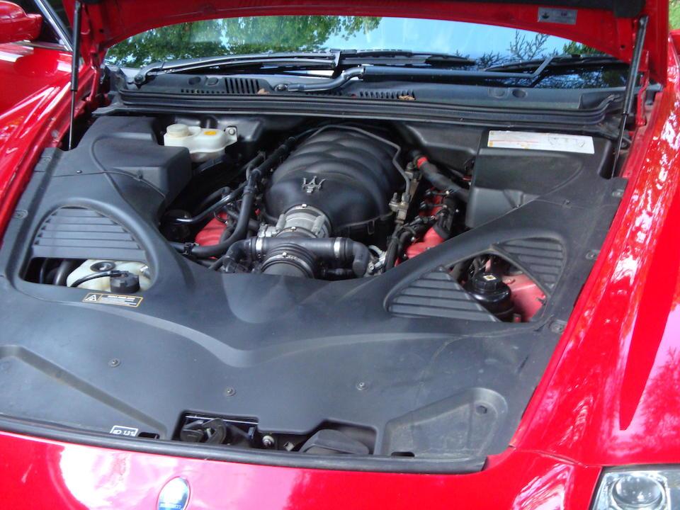 2005 Maserati Quattroporte  Chassis no. ZAMCD39C000018747