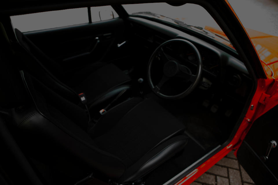 1977 Ford RS2000  Chassis no. GCATL97706