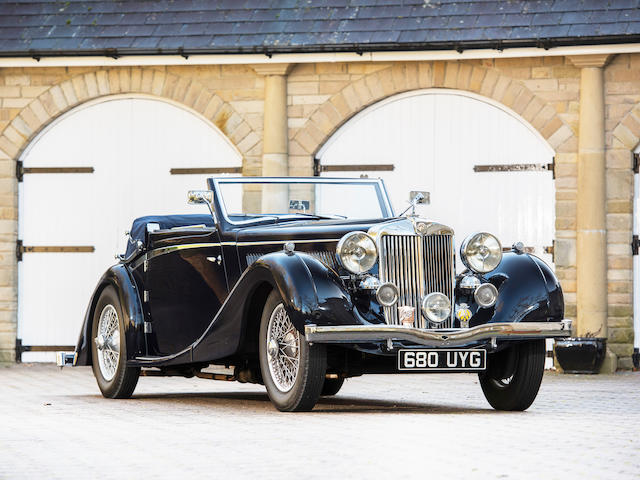 1939 MG WA Drophead Coupé  Chassis no. WA 0417