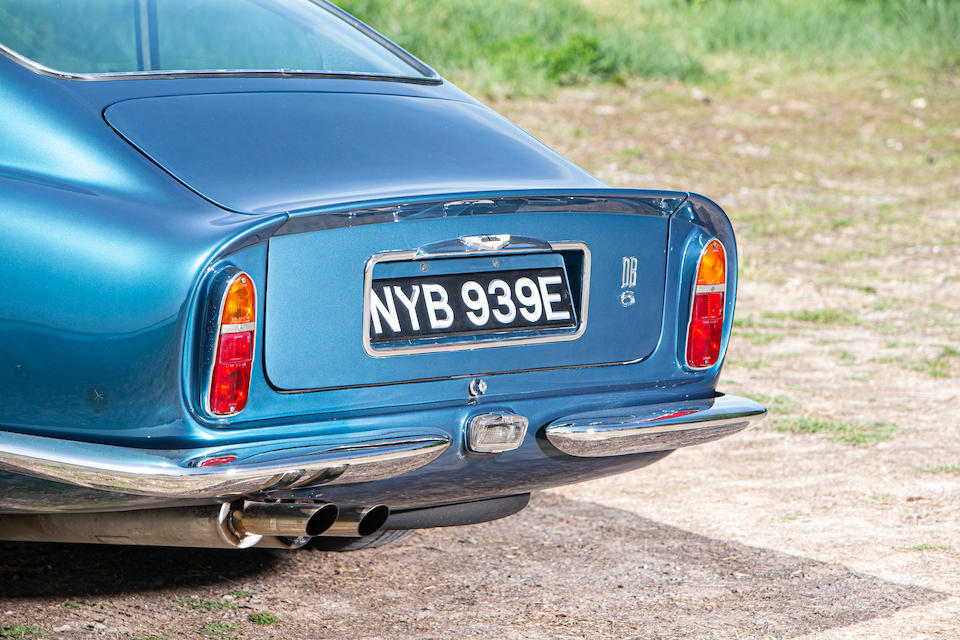 1966 Aston Martin DB6 4.2-Litre Sports Saloon  Chassis no. DB6/2726/R