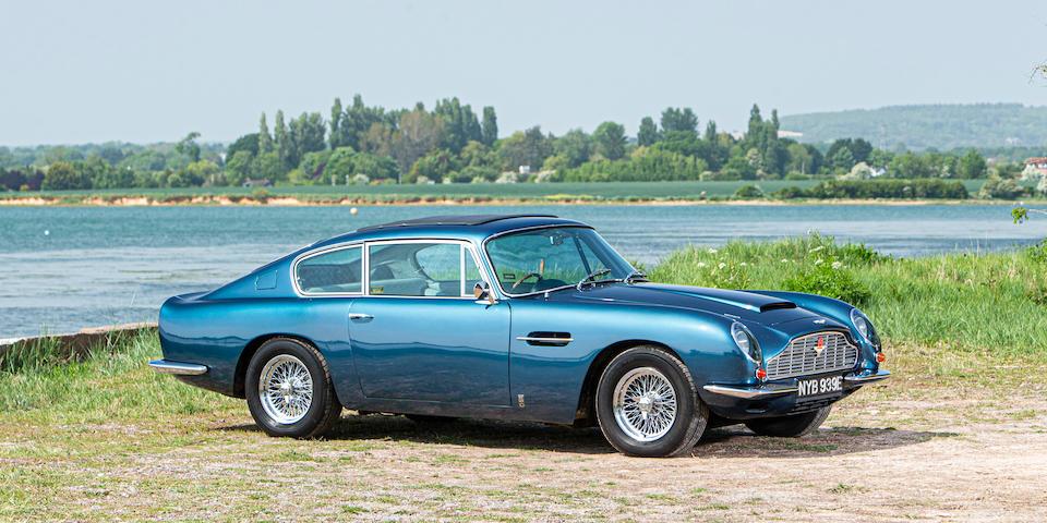 1966 Aston Martin DB6 4.2-Litre Sports Saloon  Chassis no. DB6/2726/R
