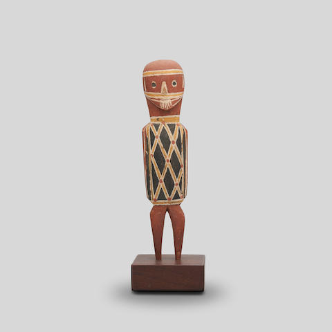 Lipundja (circa 1912-1968) Mokuy Figure, c.1964 height: 23.0cm (9 1/16in).