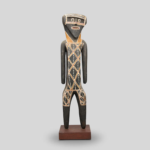 Lipundja (circa 1912-1968) Mokuy (Wild Honey Figure), c.1964 height: 66.0cm (26in).