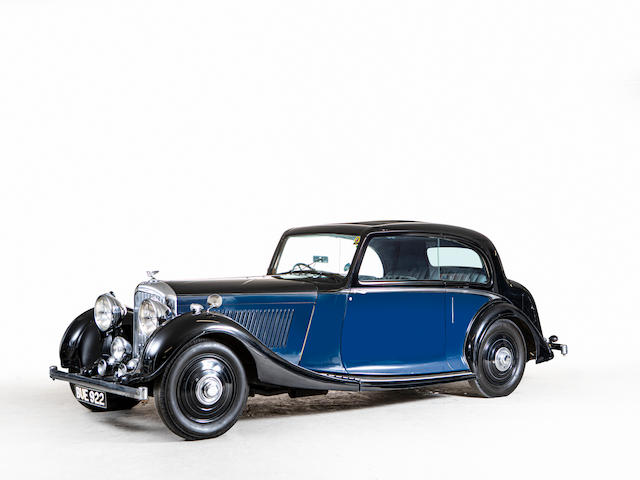 1935 Bentley 3½-Litre Pillarless Coupé  Chassis no. B129EJ