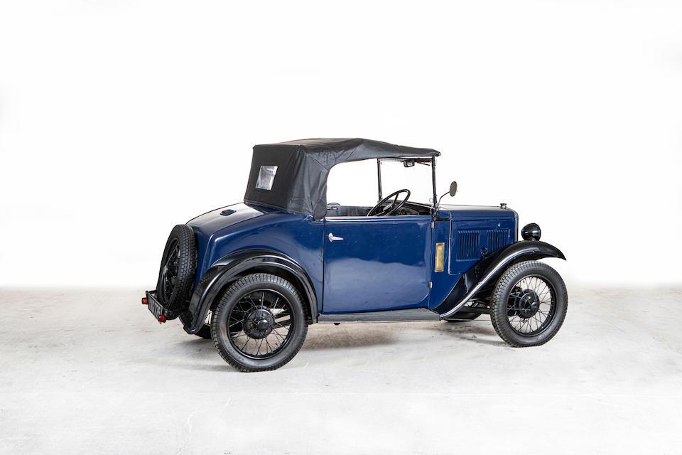 1934 Austin APD Seven (Military Tourer)  Chassis no. 276655