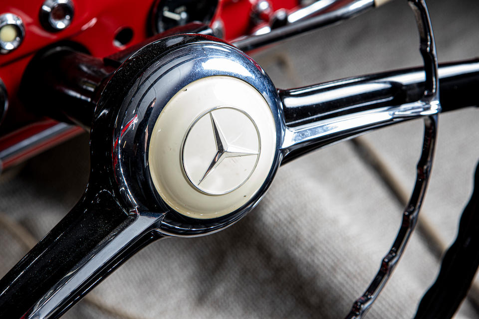 1957 Mercedes-Benz 190SL  Chassis no. 121040-7500658