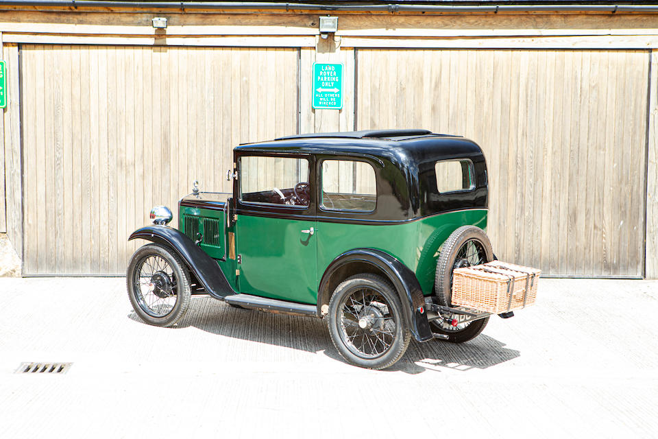 1934 Austin 7 Box Saloon  Chassis no. 192861