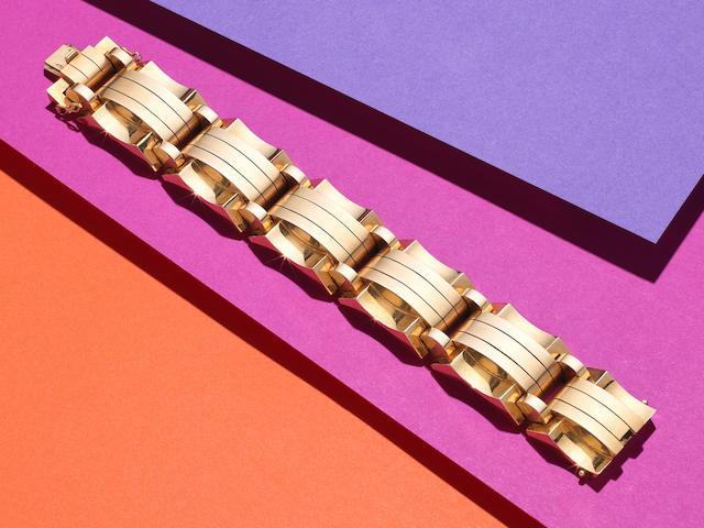 Gold Tank bracelet,