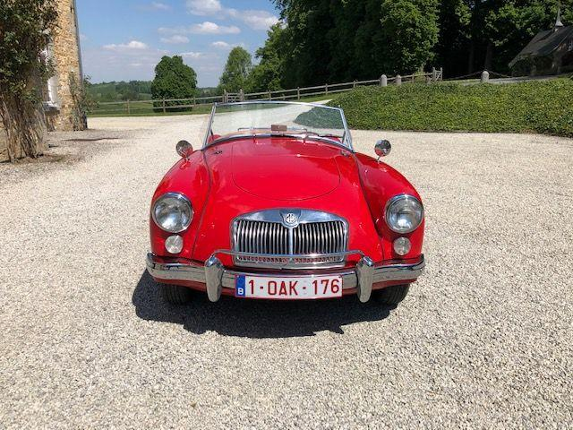 1961 MG 1600 Mark I Roadster  Chassis no. GHNL90068
