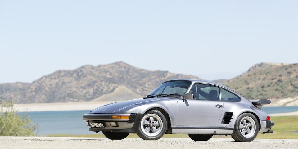 Featured in Automobile magazine Displayed at the New York Auto Show,1987  Porsche 930 Slantnose Coupe  Chassis no. WP0JB0932HS050488 Engine no. 68H00501