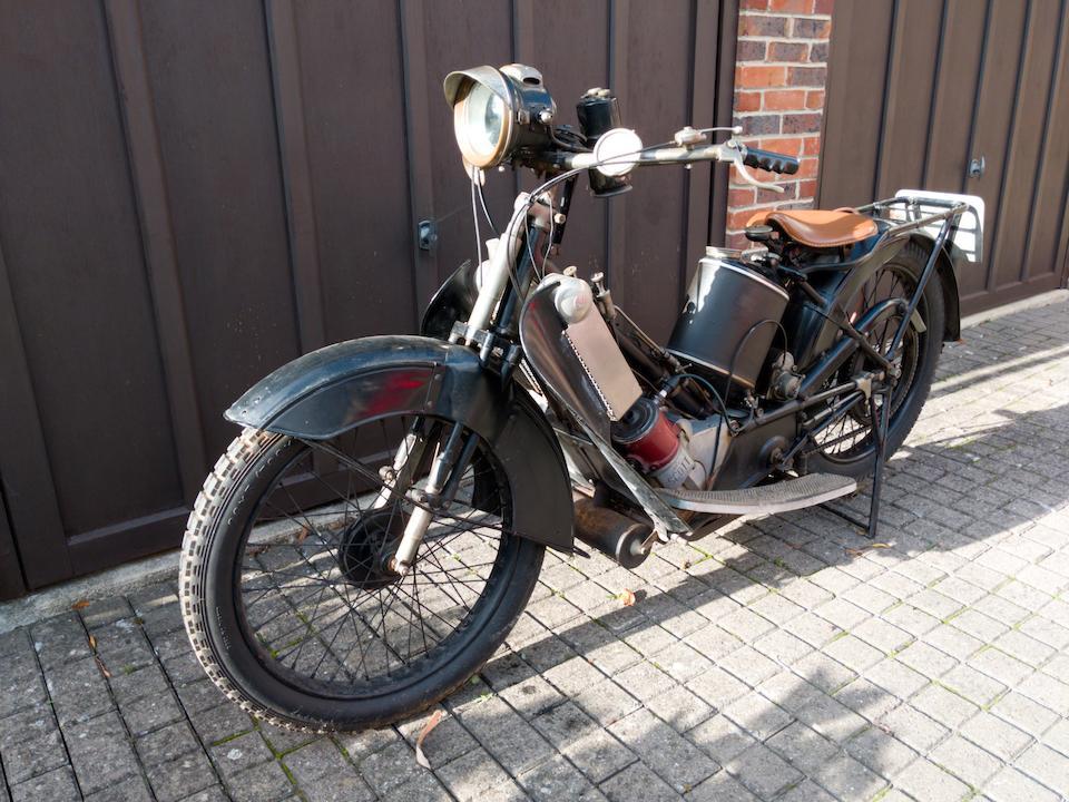 1923 Scott 532cc Standard Frame no. 3338 Engine no. 6691