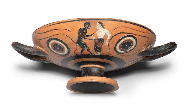 An Attic black-figure eye-cup