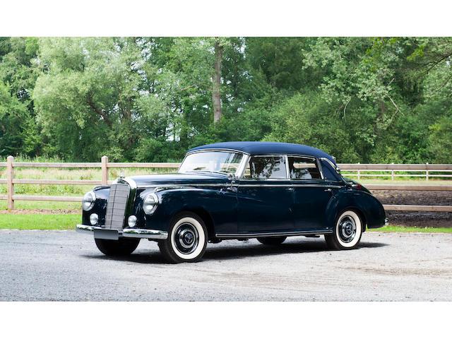 Concours restored,1952 Mercedes-Benz 300 Adenauer Cabriolet  Chassis no. 18601401531/52 Engine no. 18692001567/52