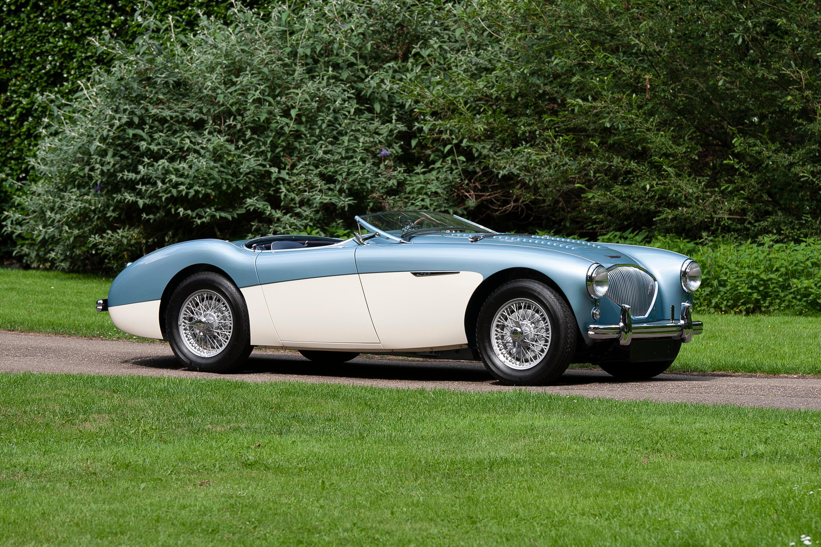 1956 Austin-Healey  100 Le Mans 'dealer 100M'  Chassis no. BN2L231401 Engine no. 1B231401M