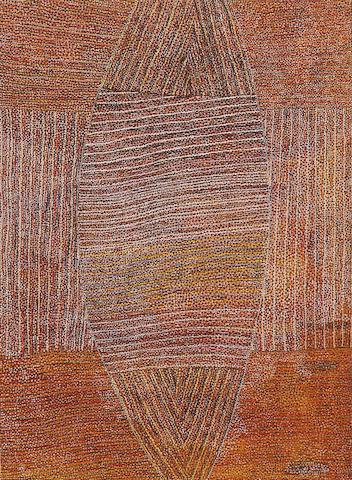 Regina Pilawuk Wilson (born 1948) Message Stick, 2002