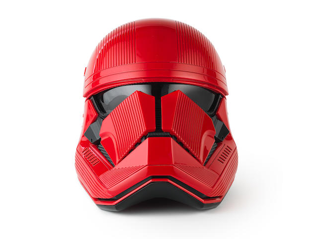 Star Wars - The Rise Of Skywalker: A production used Sith Trooper Helmet, Lucasfilm, 2019,