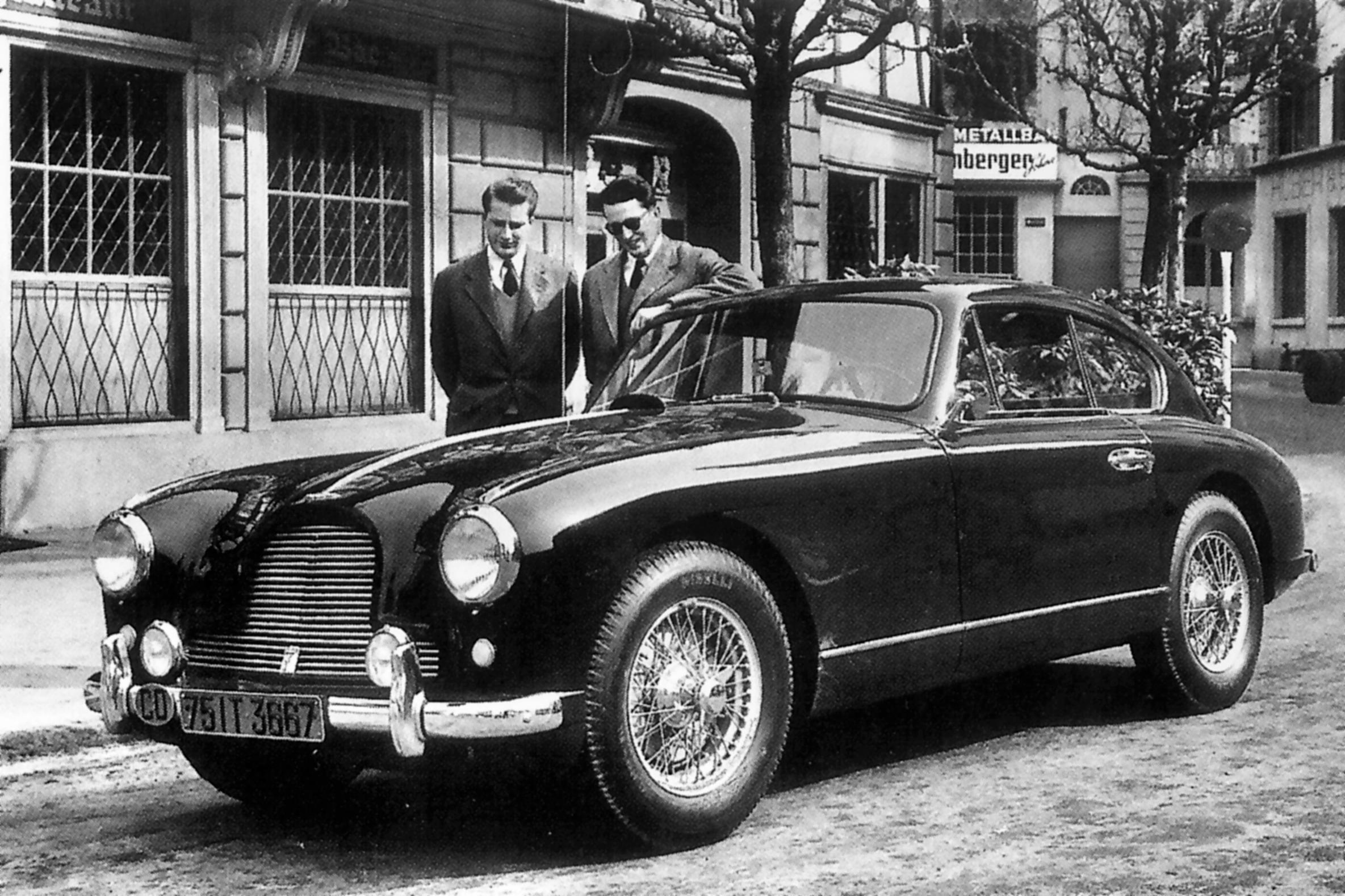 Ex-King Baudouin of Belgium,1955 Aston Martin DB2/4 3.0-Litre Sports Saloon  Chassis no. LML/785 Engine no. VB6J/236