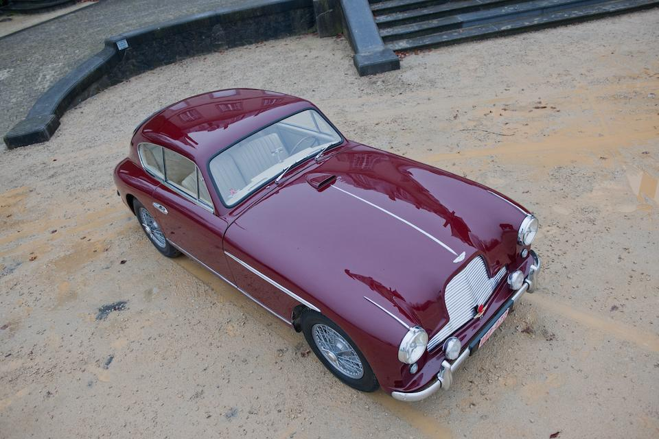 Ordered new by King Baudouin of Belgium,1955 Aston Martin DB2/4 3.0-Litre Sports Saloon  Chassis no. LML/785 Engine no. VB6J/236