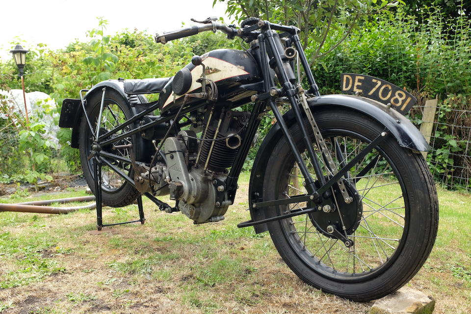 1929 Cotton 496cc Model 25 Twin-Port Frame no. to be advised Engine no. KOY/S 21382 (see text)