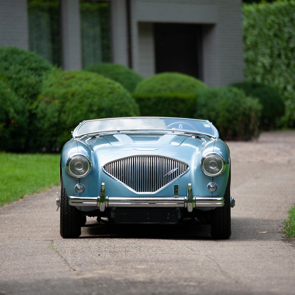 Concours Condition,1956 Austin-Healey  100/4 BN2 Roadster to 100M Specification  Chassis no. BN2/L/231401 Engine no. 1B/231401-M