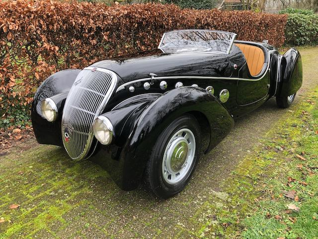 1938 Peugeot 402 Roadster  Chassis no. 367340 Engine no. 367340