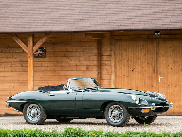 1970 Jaguar E-Type Series 2 Roadster  Chassis no. 1R1607