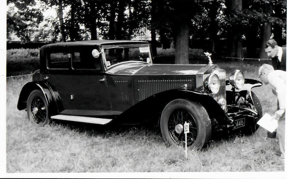 1931 Rolls-Royce Phantom II 40/50HP Saloon  Chassis no. 49GX