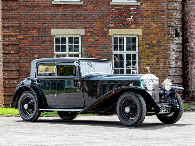 1931 Rolls-Royce Phantom II 40/50HP Saloon  Chassis no. 49GX