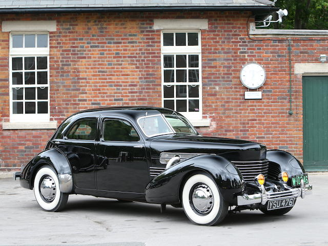 Property from a Deceased Estate,1937 Cord 812 Supercharged Westchester Sedan  Chassis no. 31841A
