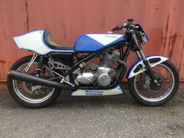P&M Triumph 'Rob North' 930cc Racing Motorcycle Frame no. TE109 Engine no. T160 KK06008