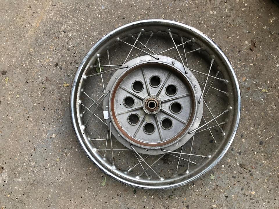 Two Grimeca wheels  ((Qty))