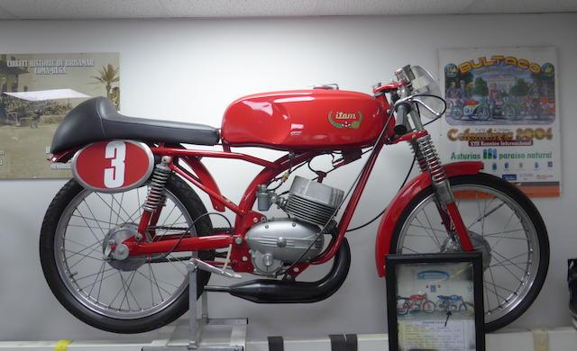 1966 Itom Mark 8 50cc Racing Motorcycle Frame no. 66094 Engine no. 17973/S