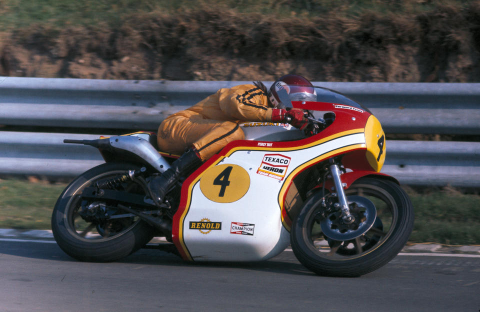 Ex-Texaco Heron Team Suzuki; Percy Tait; John Williams; 1976 Isle of Man Classic TT-winning,1975 Suzuki 750cc XR11 Formula 750 Racing Motorcycle Frame no. GT750-62865 and 2859