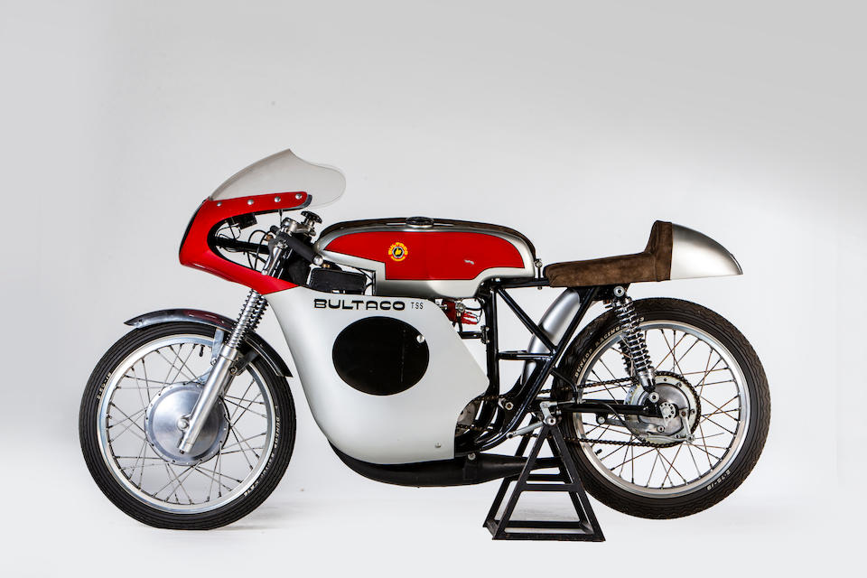 c.1969 Bultaco 125cc TSS Grand Prix Racing Motorcycle Frame no. B-600592 Engine no. M-100155-6