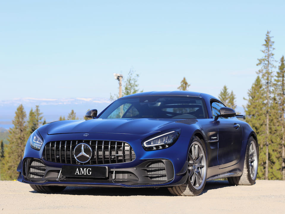 Only 50 kilometres from new,2019 Mercedes-AMG  GT R PRO Coupé  Chassis no. WMX1903791A028265
