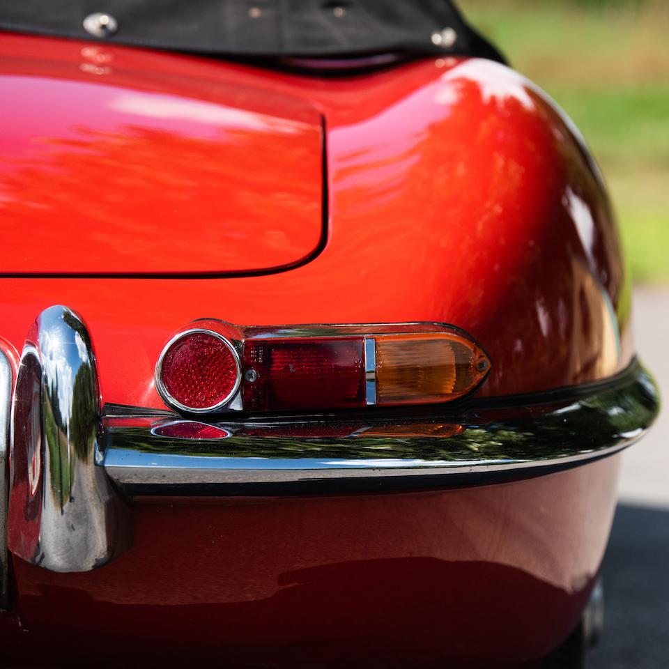 1961 Jaguar E-Type 3.8-Litre Series 1 Flat floor 'External Bonnet Lock' Roadster  Chassis no. 875289 Engine no. R1394-9