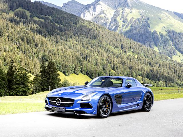 2014 Mercedes-Benz SLS AMG 'Black Series' Coupé  Chassis no. WDDRJ7HA9EA010656
