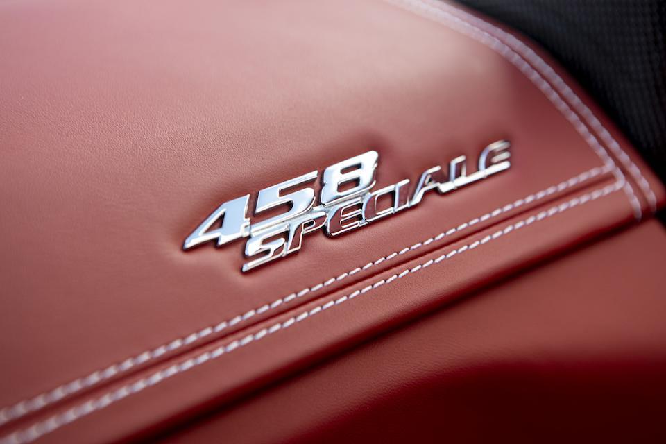 2014 Ferrari  458 Speciale Coupé  Chassis no. ZFF75VHT2E0201113