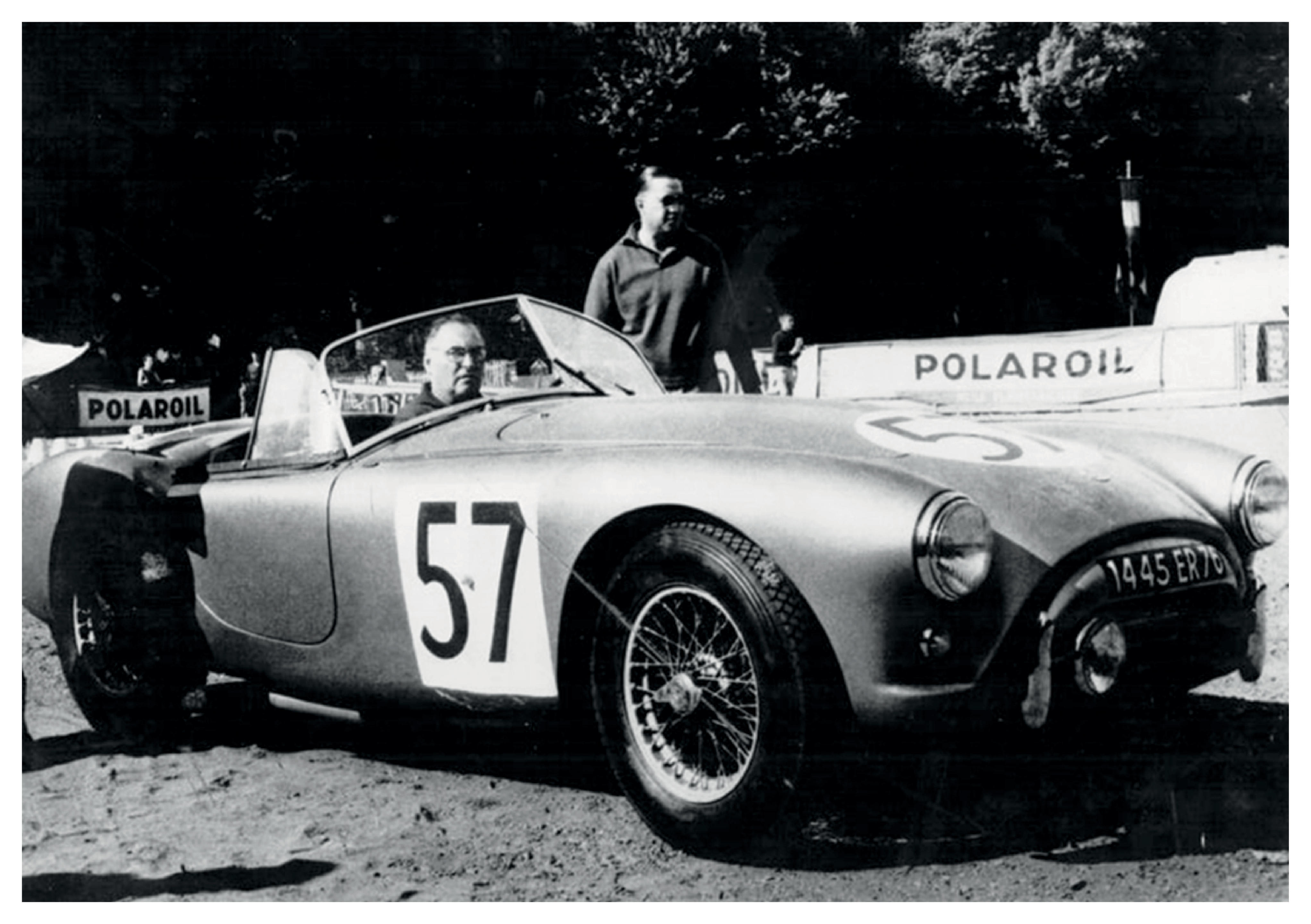 24 Hours of Le Mans 1960 participant,1957 AC Bristol Roadster  Chassis no. BEX 365