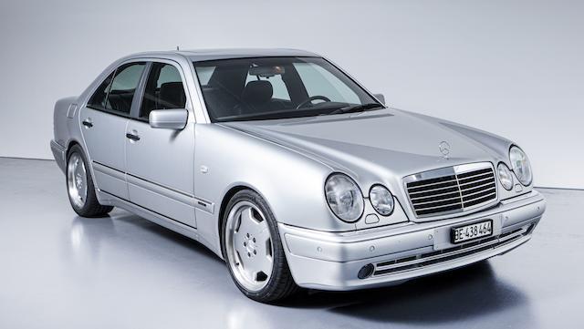 1997  Mercedes-Benz E50 AMG  Chassis no. WDB2100721A358301