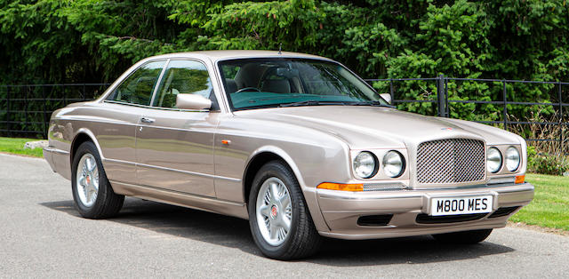 1996 Bentley Continental R Coupé  Chassis no. SCBZB15C3TCH53086