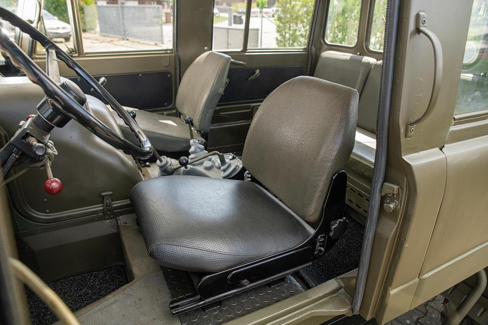 1974 Mercedes-Benz Unimog 406 Doppel Kabine 4x4 Utility  Chassis no. 406.145-10-022884