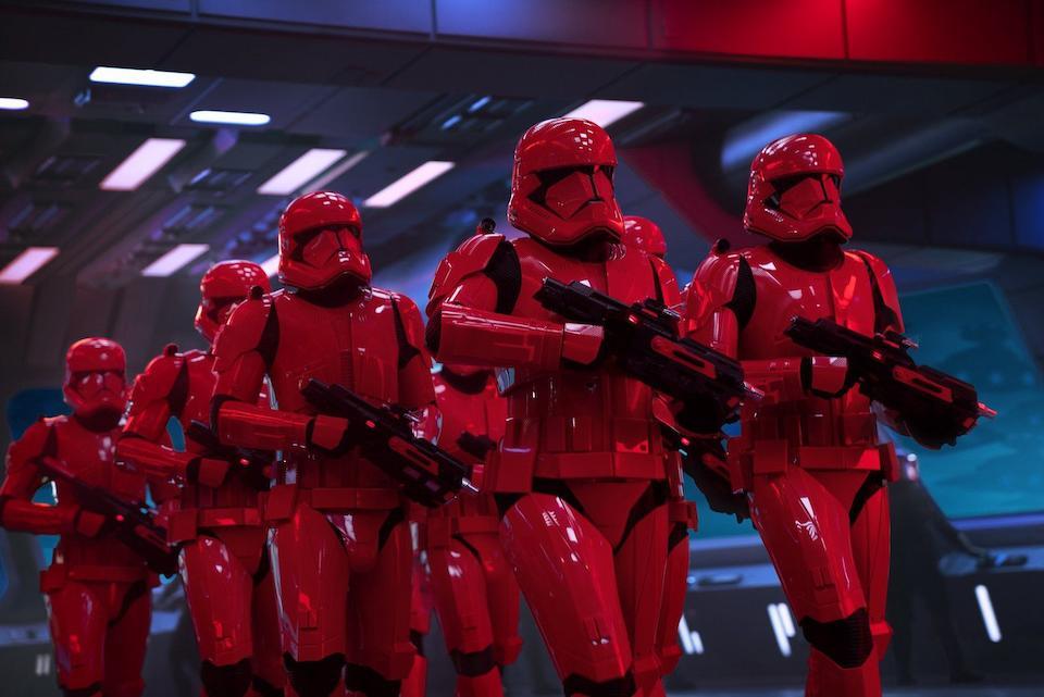 Bonhams : Star Wars - The Rise Of Skywalker: A production used Sith Trooper Helmet, Lucasfilm, 2019,