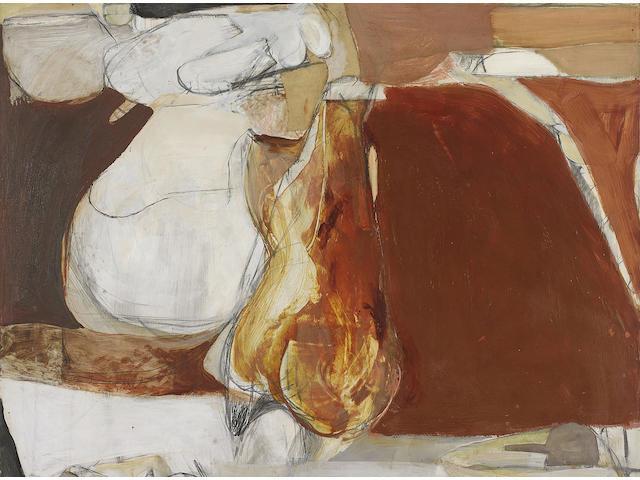 Brett Whiteley (1939-1992) Untitled Painting III, 1961