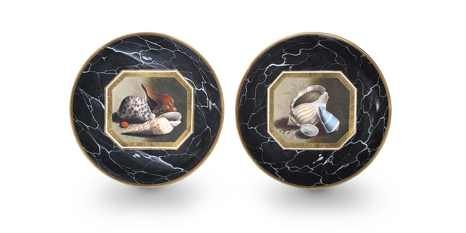 A fine pair of Barr, Flight and Barr dishes, circa 1804-07