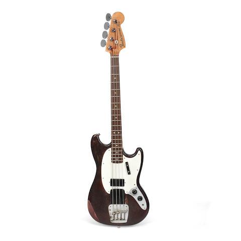 Status Quo: Alan Lancaster's Fender Mustang Bass Guitar, 1968,