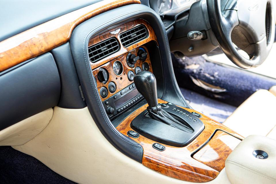 2002 Aston Martin DB7 V12 Vantage Volante  Chassis no. SCFAB32312K402819