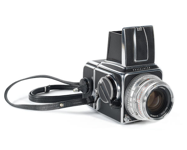 The Beatles / Iain Macmillan: The Hasselblad 500C camera used by Iain Macmillan to photograph the cover image for the Beatles' Abbey Road album, 1969, Qty
