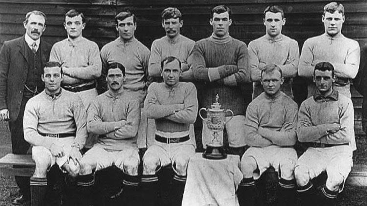 The Historically Important Football Association Challenge Cup, 1896-1910